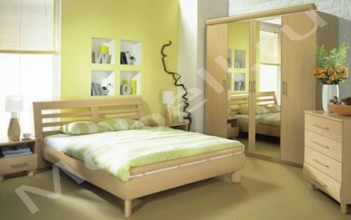 Дизайн спальни в сталинке