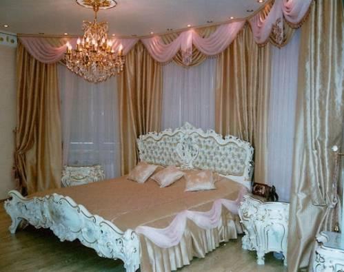 Занавески и шторы для спальни