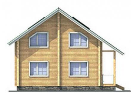 Фасады домов из сайдинга фото