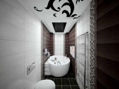 дизайн ванной маленького размера фото