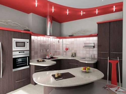 Дизайн кухни 9м2