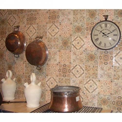 Плитка для кухни модная кухня