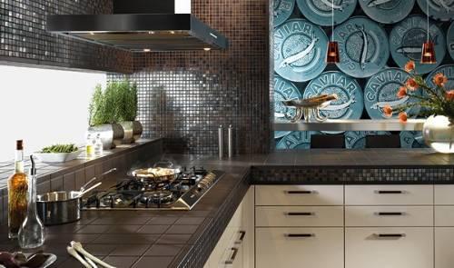 Напольная плитка для кухни белая