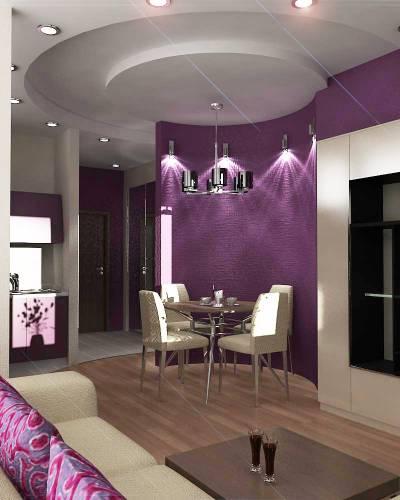 Дизайн отделки стен кухни