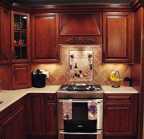 Плитка для классической кухни