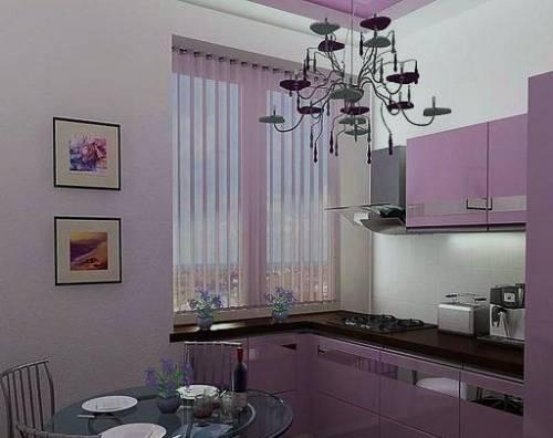 Дизайн обычной кухни