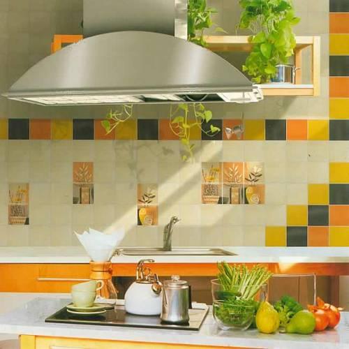 Плитка для кухни с кошками кухня